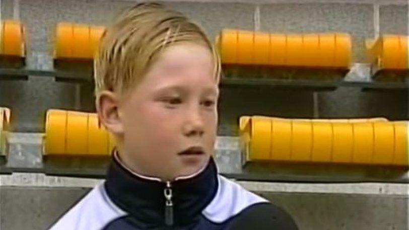 Όταν ο πιτσιρικάς Ντε Μπρόινε δήλωνε ότι θέλει να παίξει στη Λίβερπουλ! (vid)