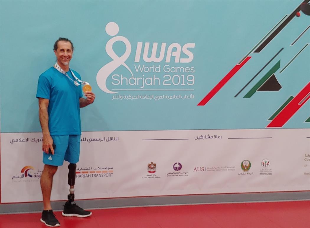 Στην κορυφή του κόσμου ο παραολυμπιονίκης Κώστας Μιχαηλίδης