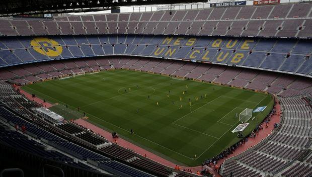 Μπαρτσελόνα: Ύποπτο drone πάνω από το Camp Nou