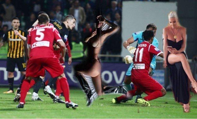 Ο Βράνιες της έστειλε το γκολ με Ξάνθη και η Γελένα γυμνή φωτογραφία της (pic)