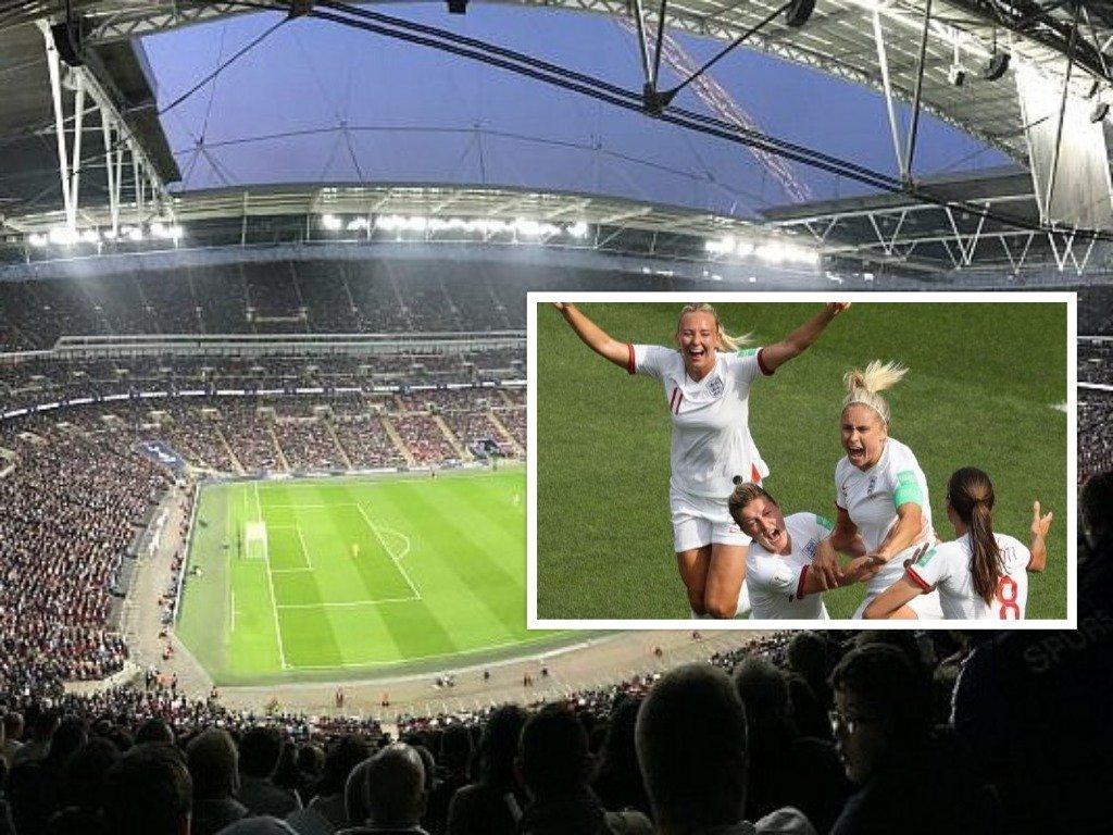Απίστευτο: Sold out το Γουέμπλεϊ για το φιλικό Αγγλία-Γερμανία στις γυναίκες!