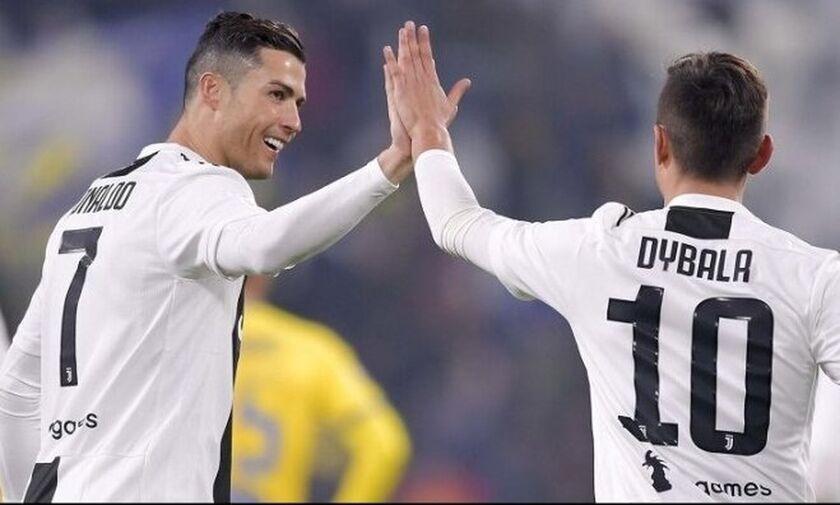 Sky Sports: «Θετικοί στον κορωνοϊό Κριστιάνο Ρονάλντο και Πάουλο Ντιμπάλα»