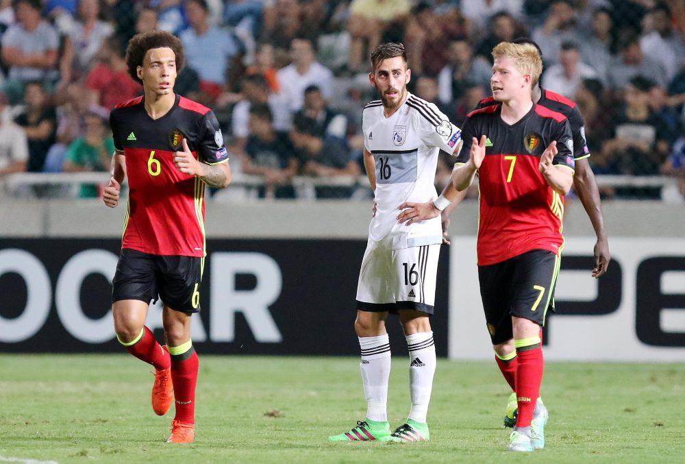 Αποτέλεσμα: Κύπρος - Βέλγιο 0-3 (το live της αναμέτρησης)