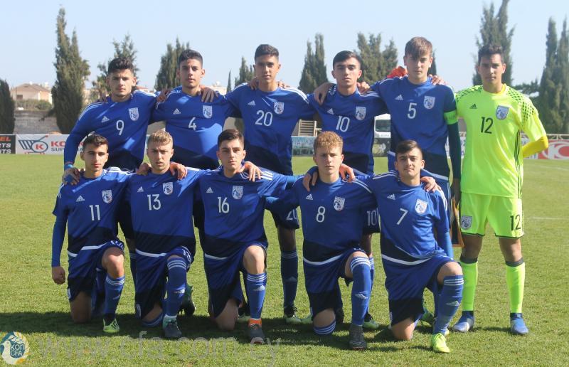 Ισόπαλη τραντάζοντας τα δοκάρια η Εθνική Παίδων U17