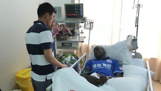 Ο Ντεμπά Μπα συγχώρεσε τον υπεύθυνο του τραυματισμού του