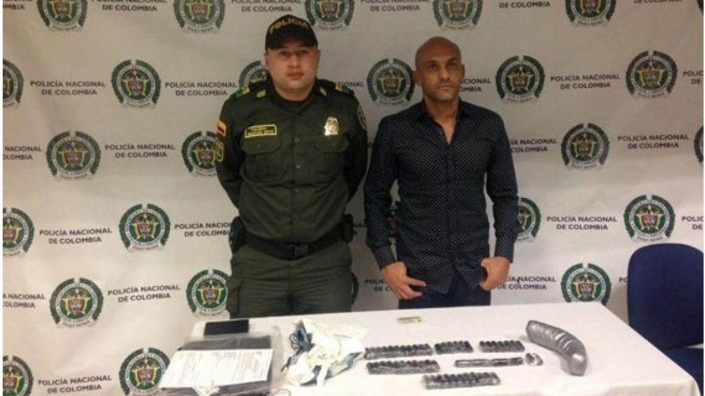 Σύλληψη πρώην διεθνή ποδοσφαιριστή με ένα κιλό κοκαΐνη (video)