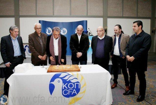 «Περήφανος για τον τρόπο που λειτουργεί το ποδόσφαιρο στην Κύπρο»