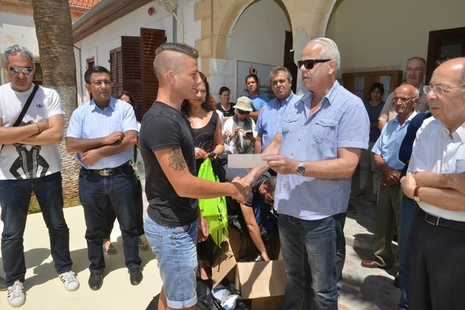 Συγκινητική επίσκεψη της ΕΑΚ στο Ριζοκάρπασο