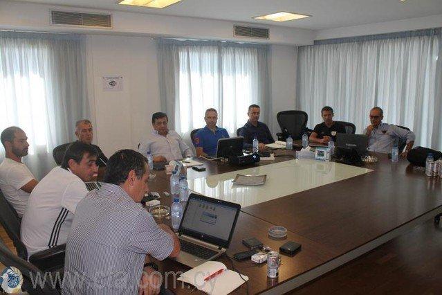 Συνάντηση Ομοσπονδιακών προπονητών και ανάλυση αγώνων
