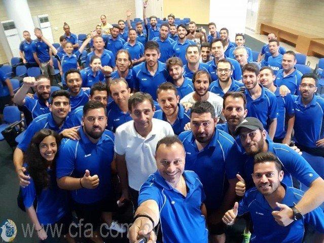 Ολοκληρώθηκαν τα μαθήματα για το UEFA C'