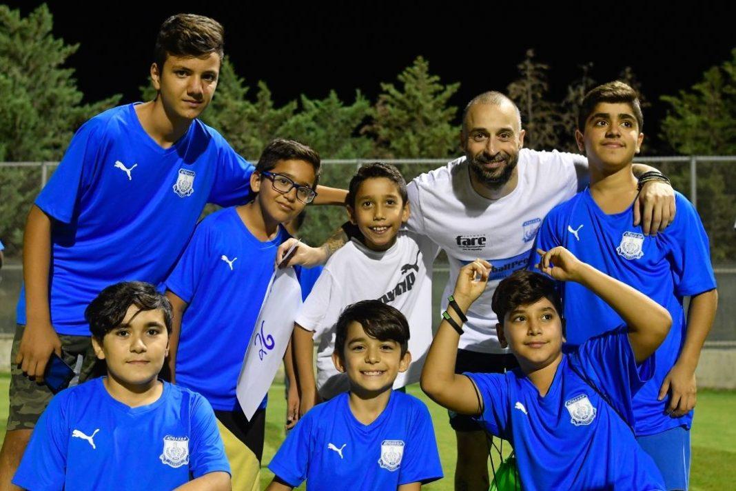 Απόλλων: Ολοκληρώθηκε το πρόγραμμα «Welcome Through Football»