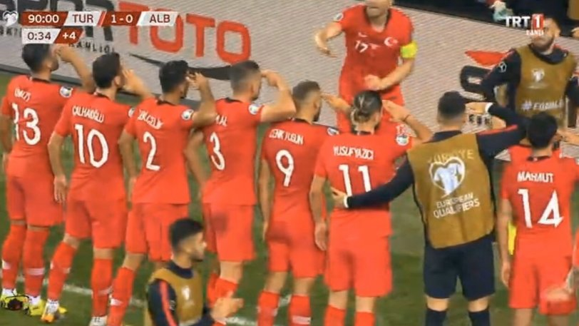 Σάλος με τους Τούρκους ποδοσφαιριστές