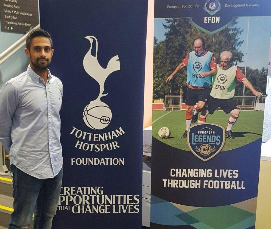 Εκπρόσωπος της Ανόρθωσης στο European Legends: Walking Football