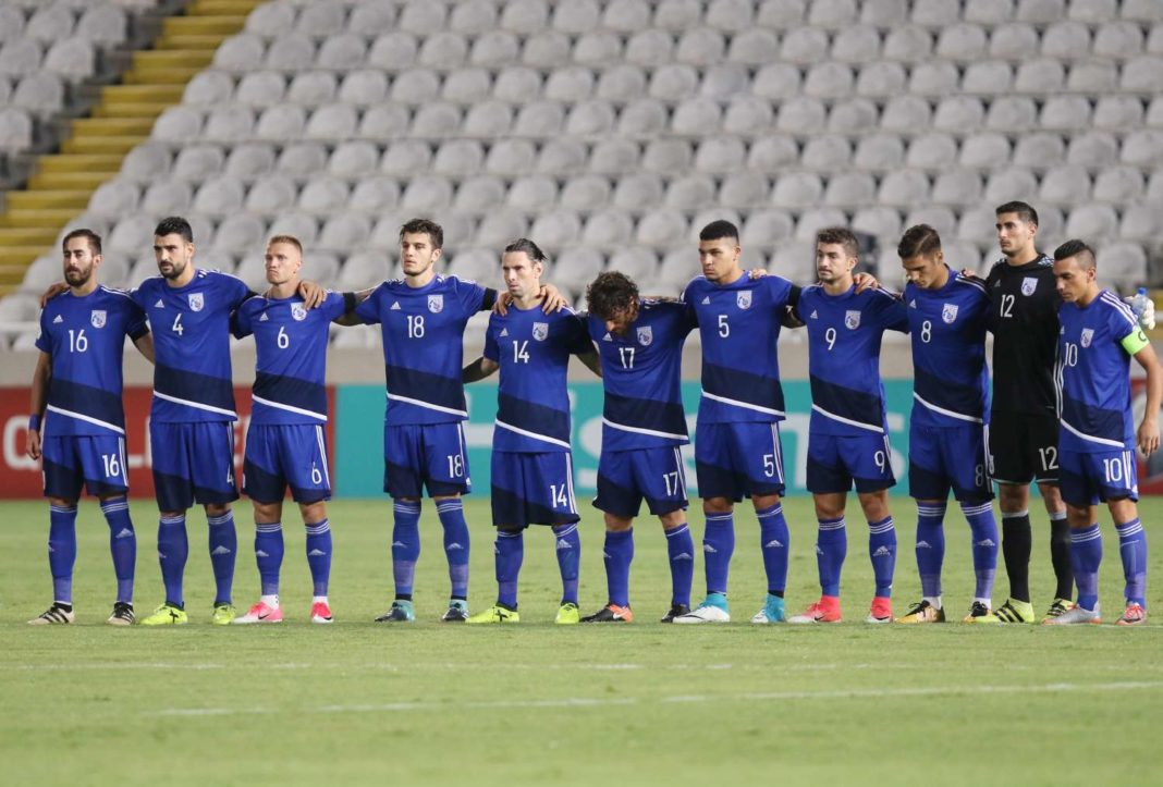 Φιλικό με το Μαυροβουνίο για την Εθνική Ανδρών
