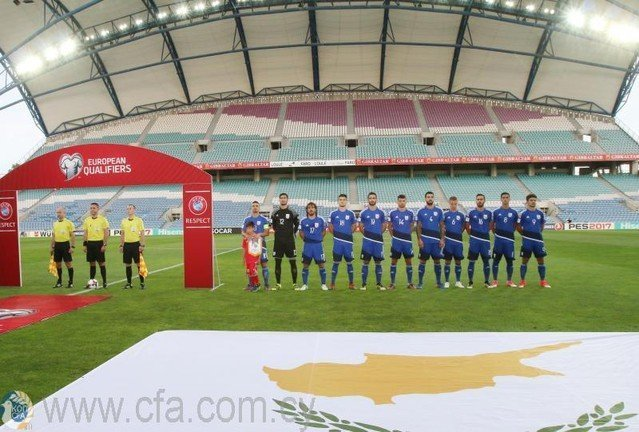 Στην 95η θέση της κατάταξης της FIFA η Εθνική Κύπρου