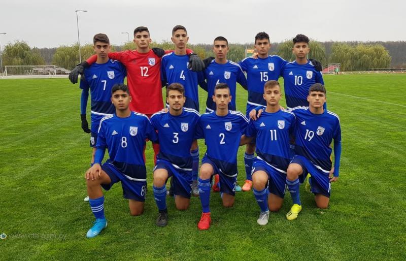 Ισόπαλος ο φιλικός αγώνας της Εθνικής Παίδων U14 στη Ρουμανία