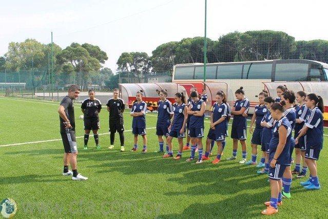 Προετοιμασία Εθνικής Νεανίδων για δύο φιλικά με την Ελλάδα