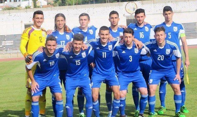 Νέοι Κ-19:  Ισόπαλοι 1-1 με τα Σκόπια