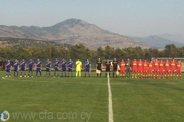 Η αποστολή της Εθνικής Παίδων για τα Σκόπια