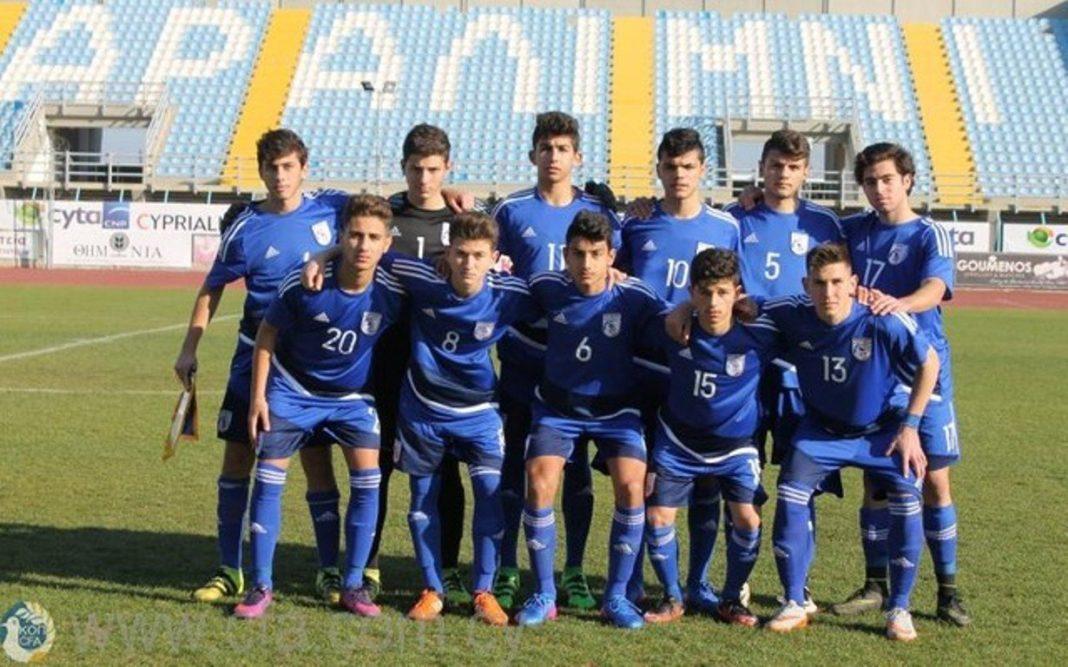 Εθνική Παίδων U15 - Ρουμανία