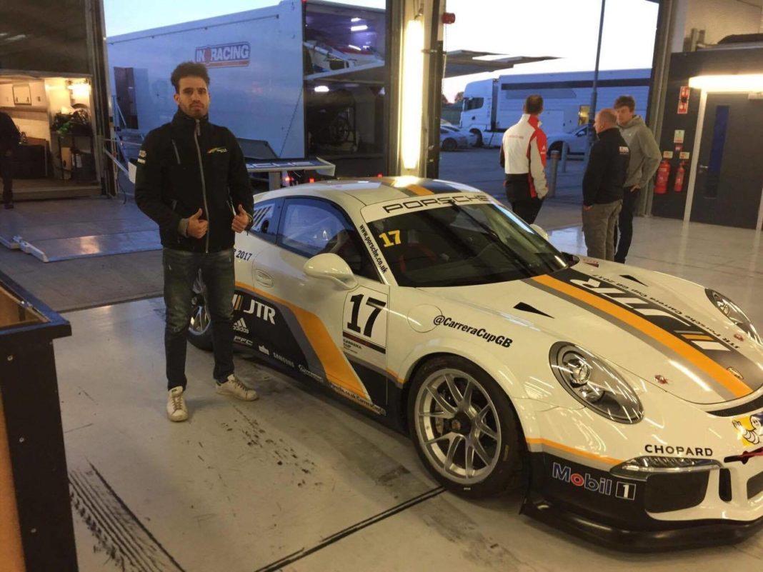 Τίο Έλληνας: «Ανυπομονώ να πάρω το τιμόνι της Porsche στα χέρια μου»