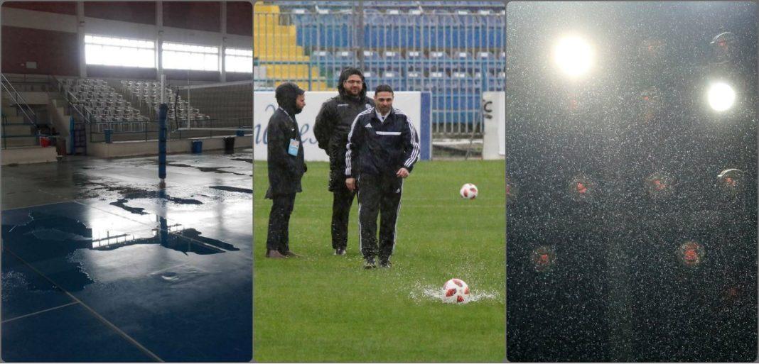 Να κατουρήσει ο στρούθος αναβάλλονται αγώνες στην Κύπρο