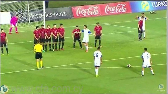 Εκτενή στιγμιότυπα από τη νίκη της Εθνικής Ελπίδων στην Τουρκία