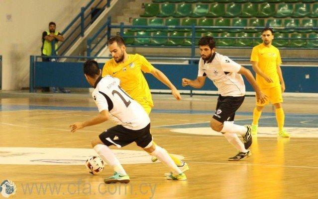 Η 4η αγωνιστική του πρωταθλήματος Futsal