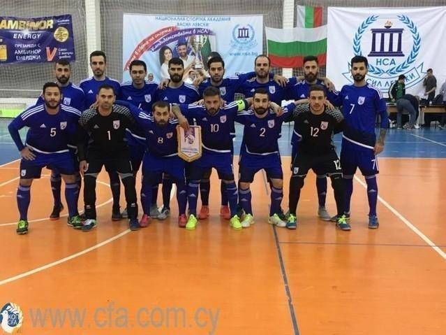 Φιλικούς αγώνες με την Βουλγαρία η Εθνική φούτσαλ