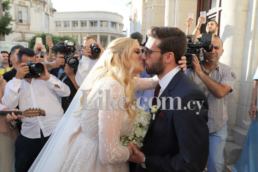Παντρεύτηκαν Χριστιάνα Αριστοτέλους και Γιώργος Εφραίμ (pics)