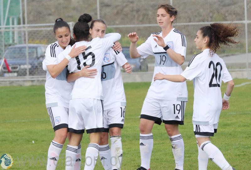 Φιλική νίκη της Εθνικής Γυναικών επί της Λιθουανίας