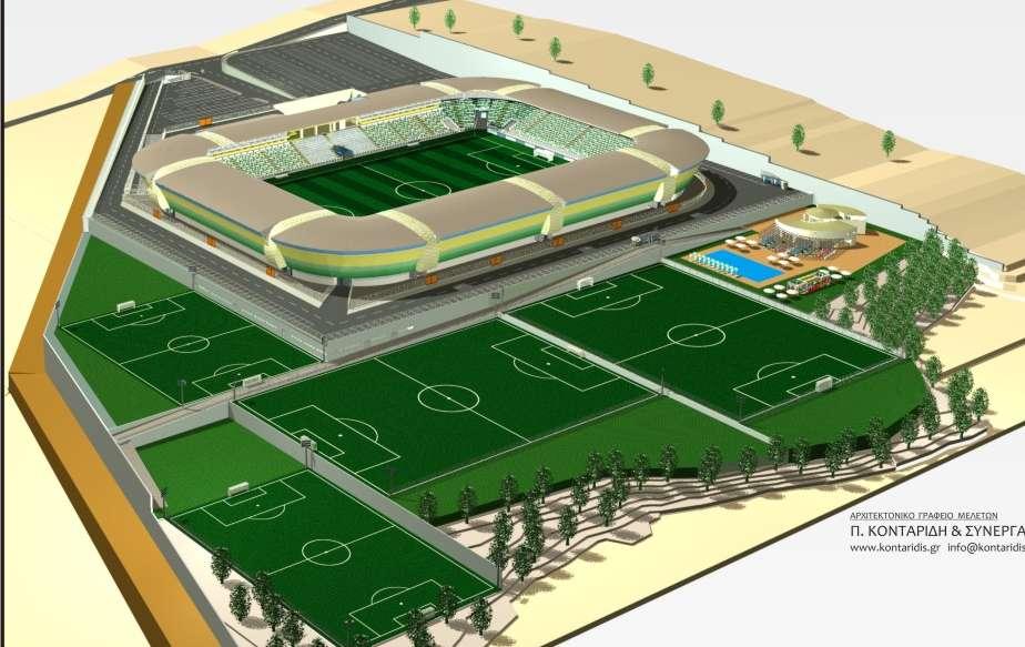 Γεωργιάδης για το γήπεδο στη Λεμεσό: «Άδειες στις αρχές του 2017...»