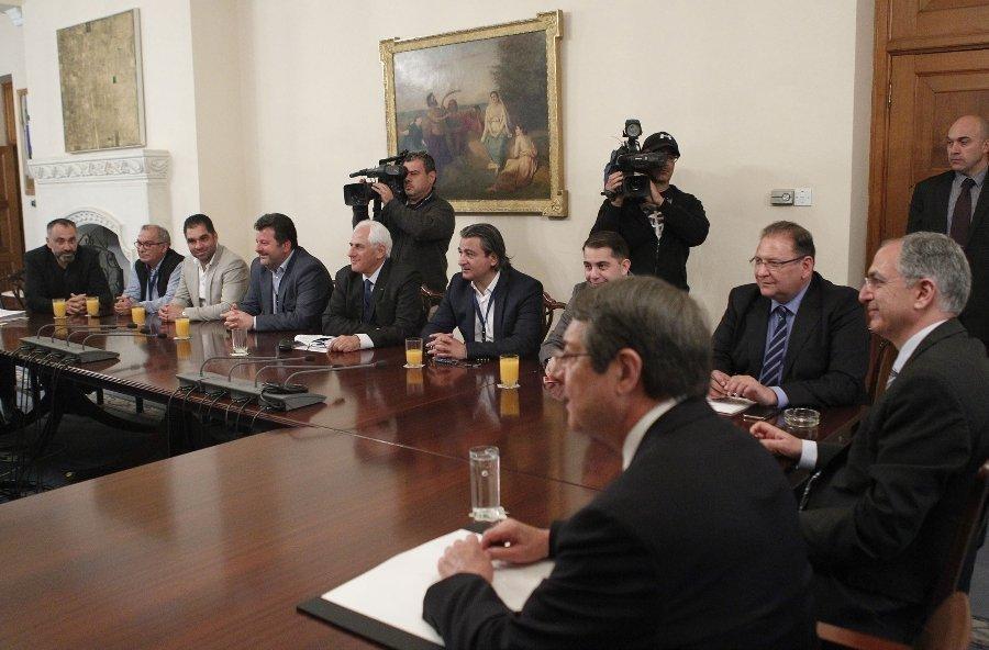 Νέα συνάντηση για το γήπεδο Λεμεσού (δηλώσεις προέδρων)