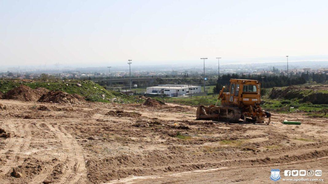 Φωτογραφίες: H πρόοδος των εργασιών για το Limassol Arena
