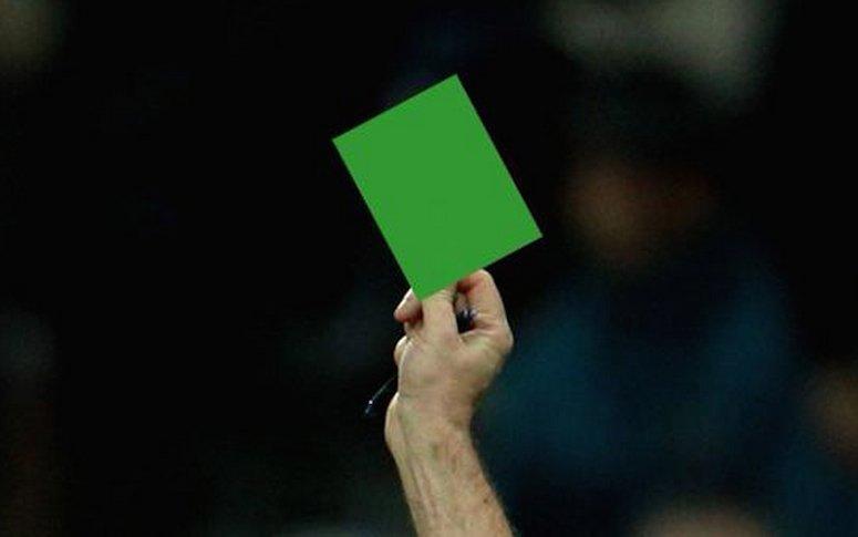Σε αγώνα της Serie B η πρώτη πράσινη κάρτα (vid)