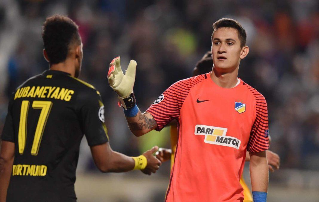 Ο Γκουδίνιο θα φορέσει τα γάντια του