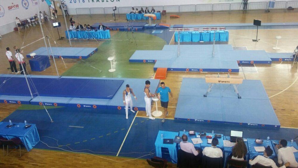 Πρόκριση σε 5 τελικούς στην Ενόργανη Γυμναστική