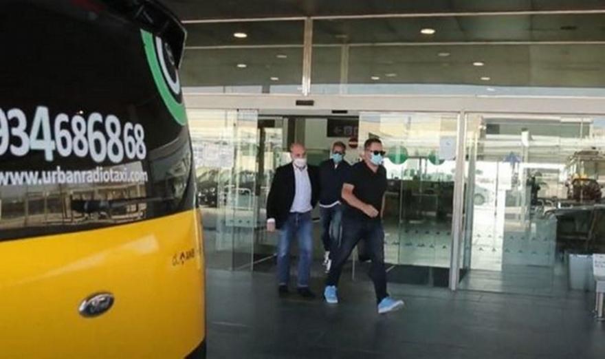 Στη Βαρκελώνη ο Ραϊόλα μαζί με τον πατέρα του Χάαλαντ (video)