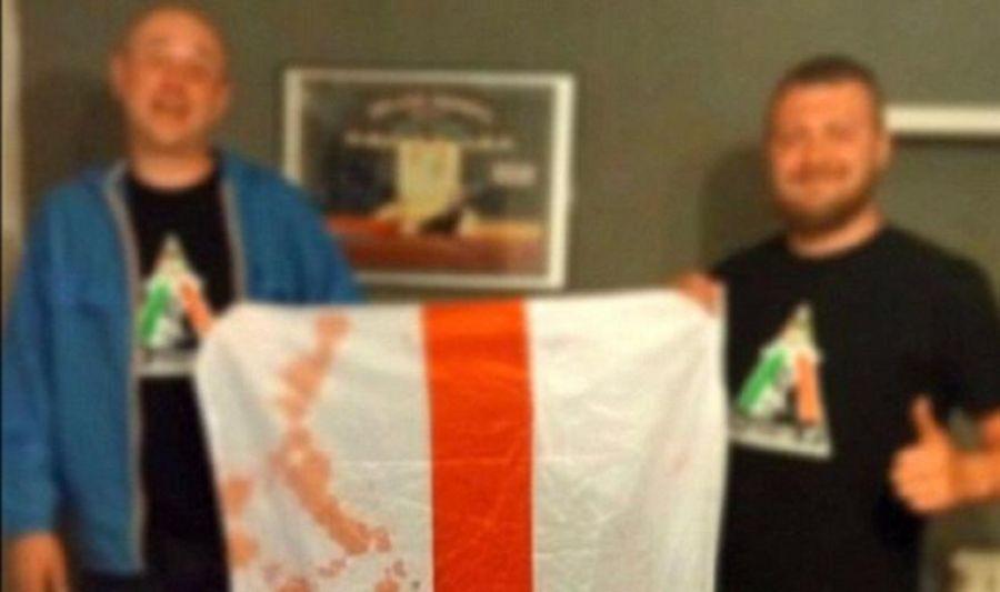 Kαφρίλα: Ρώσοι χούλιγκαν πωλούν ματωμένες αγγλικές σημαίες! (pics)