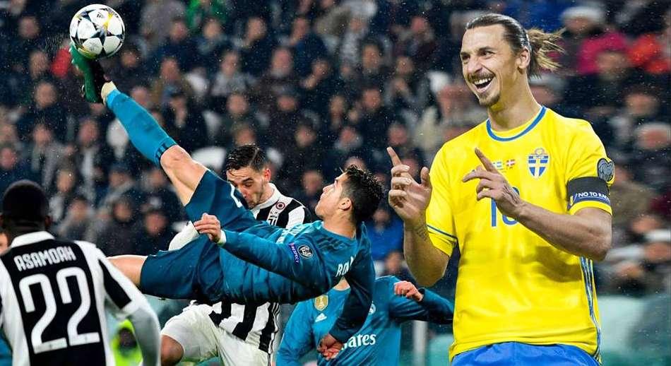 Επικό σχόλιο Ζλάταν για το γκολ του Ρονάλντο με... ολίγο κράξιμο!