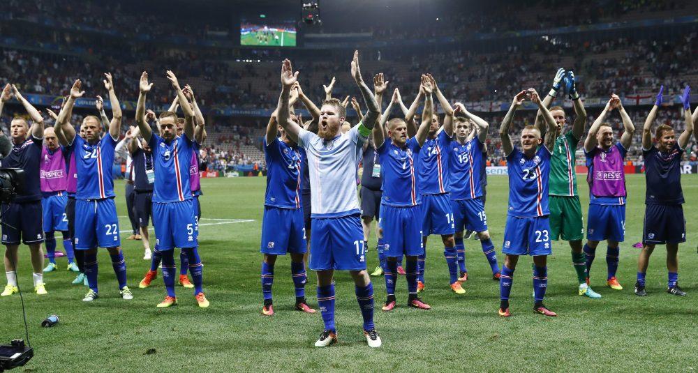 Επικός πανηγυρισμός από τους Ισλανδούς! (vids)