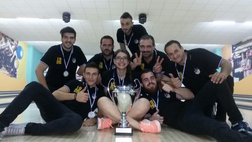 Μπόουλινγκ: Δεύτερη θέση στο Παγκύπριο Κύπελλο για τον ΑΠΟΕΛ