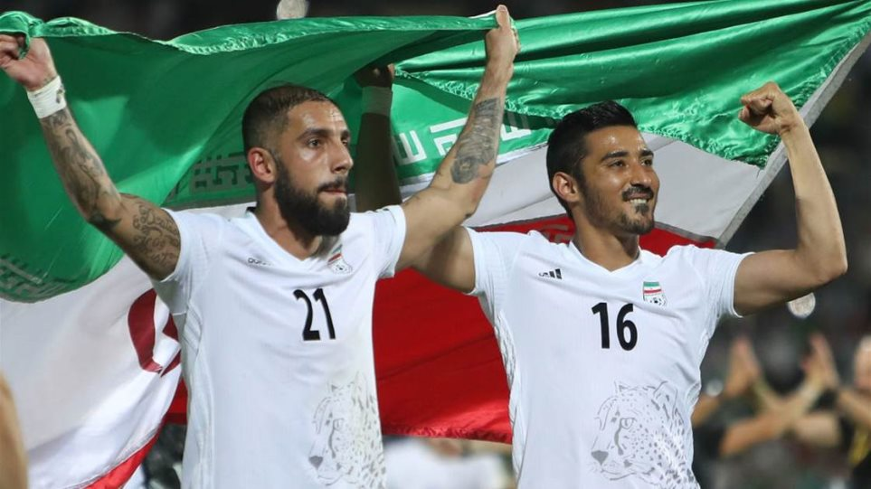 Το Ιράν διακόπτει τις ποδοσφαιρικές σχέσεις με την Ελλάδα