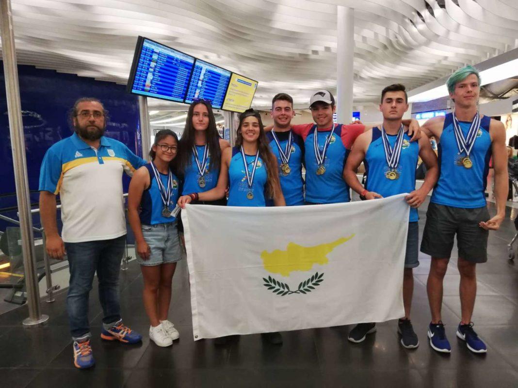Δέκα μετάλλια οι αθλητές μας!