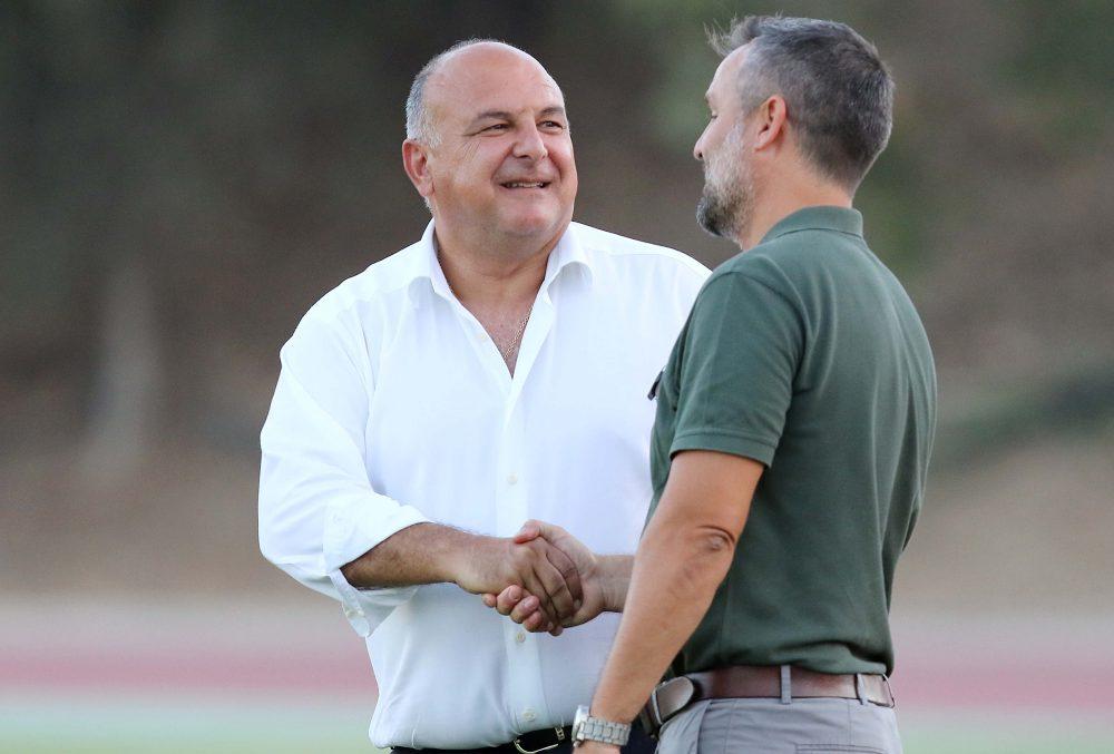 Καραπατάκης: «Θεώρησα τιμή να κάνω το γήπεδο» (χρειάζονται άλλα €3.000.000»