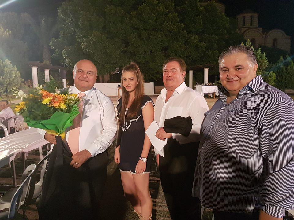 Καραπατάκης : «Σας συγχαίρω και θα είμαι δίπλα σας» (pics)