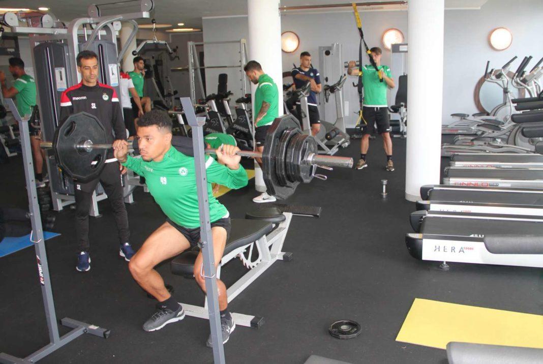 Ομόνοια: Σκληρή δουλειά στο γυμναστήριο (pics)