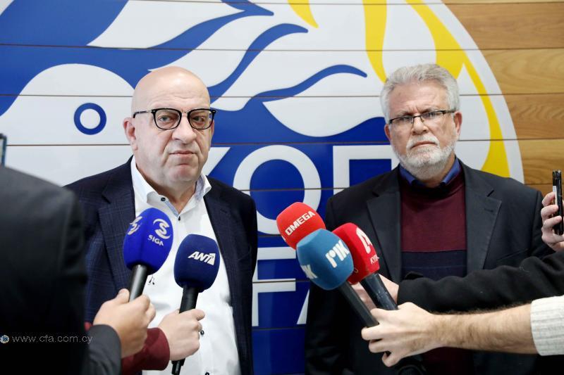 Πάπουτσος: «Επιστολή στην ΚΟΠ για Κύπριους διαιτητές στον τελικό Κυπέλλου»
