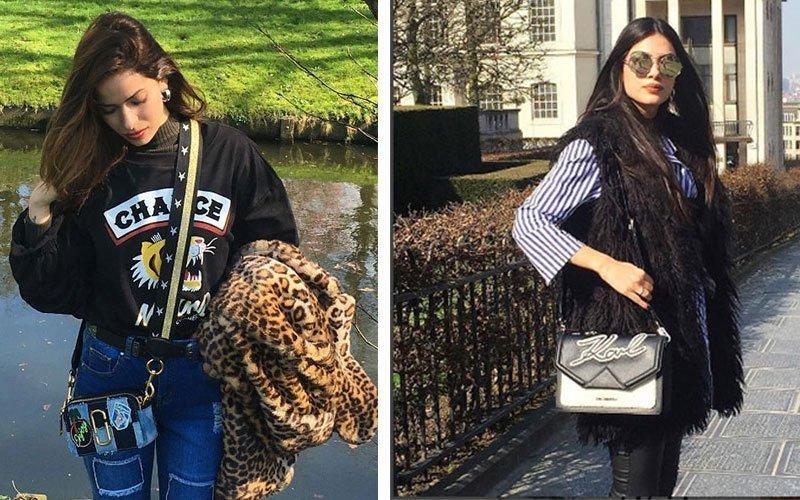 Άντρεα Κυριάκου-Μαρία Κορτζιά: Το street style τους στους δρόμους των Βρυξελλών