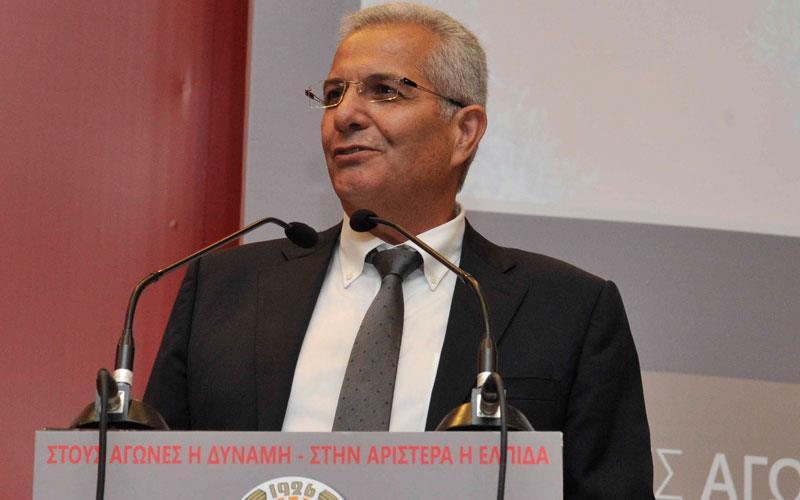Άντρος Κυπριανού για ΑΚΕΛ-Ομόνοια